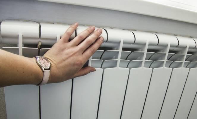 Температура батарей в помещении
