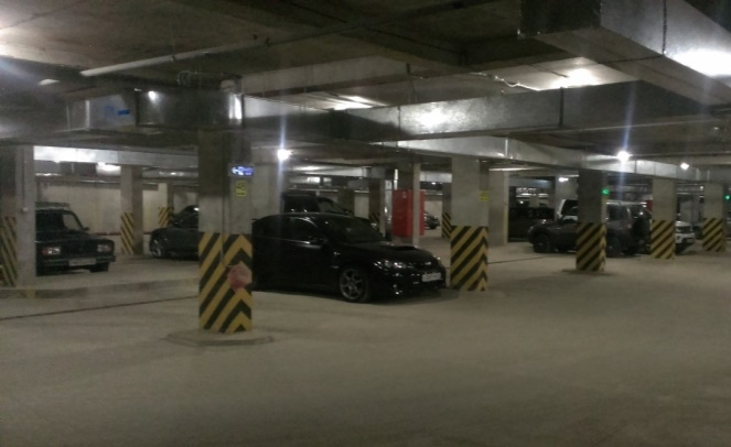 Стоимость машиноместа в подземном паркинге