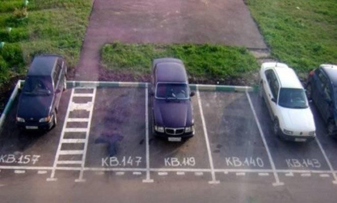 Оформление права собственности на парковку