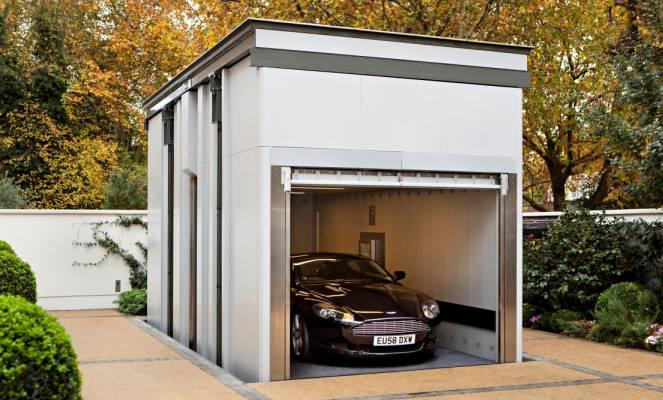 Оформление гаража на отдельном участке