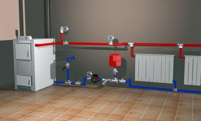 Проектирование автономного отопления