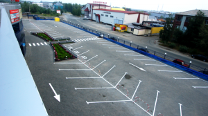 Косоугольная парковка