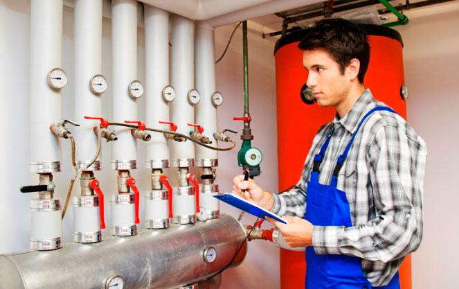 Обслуживание системы отопления многоквартирного дома