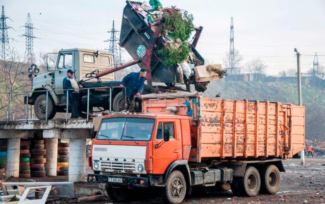 Порядок вывоза отходов