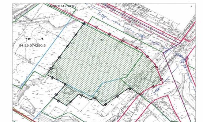 Схема зарезервированного земельного участка