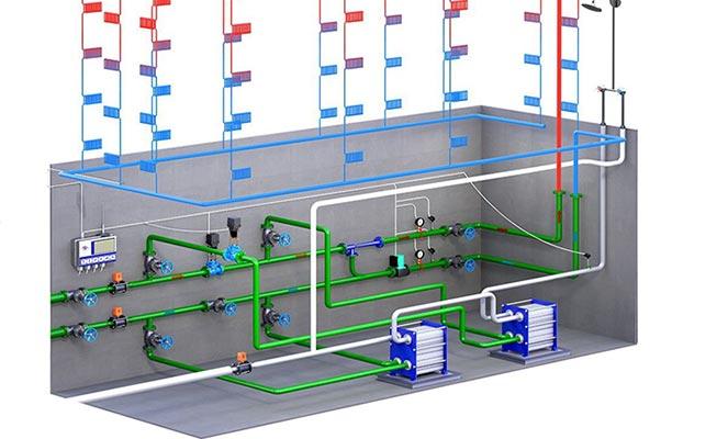 Система отопления МКД