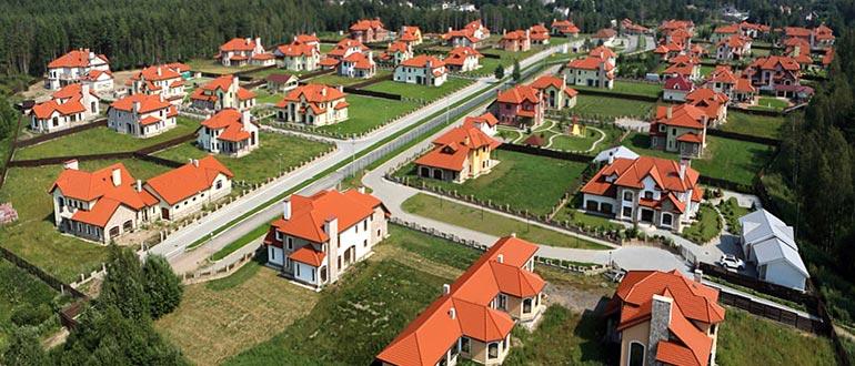 Виды земель поселений