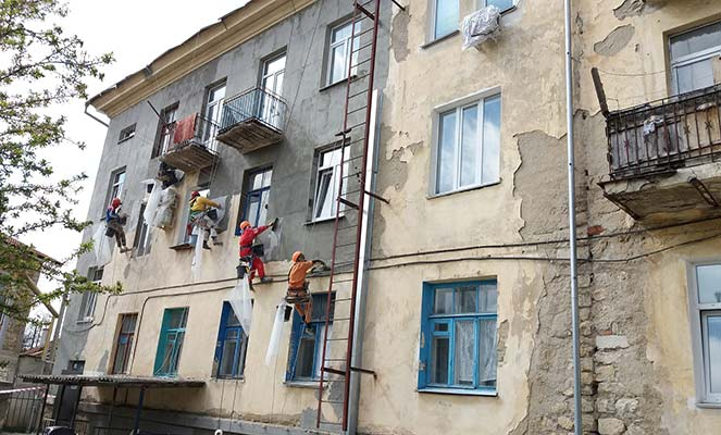 Капитальный ремонт фасада МКД