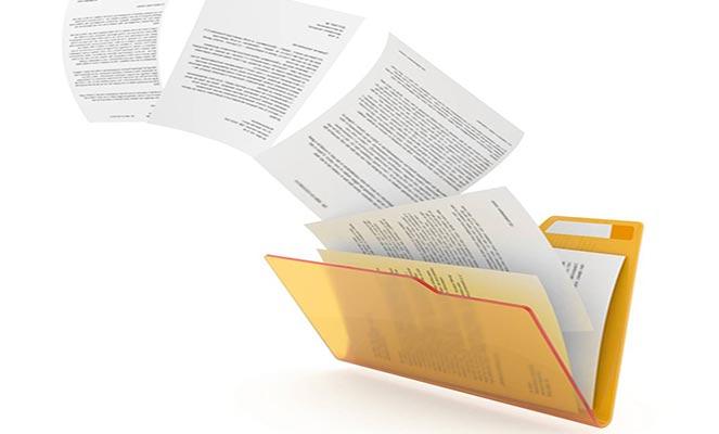 Документы для оценки