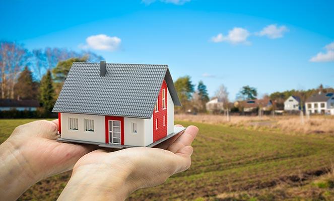 Прописка на участке, на котором еще не построен дом