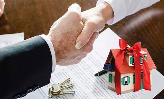 Продажа дома под видом дарения