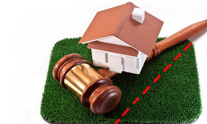 Выделение доли земельного участка в суде