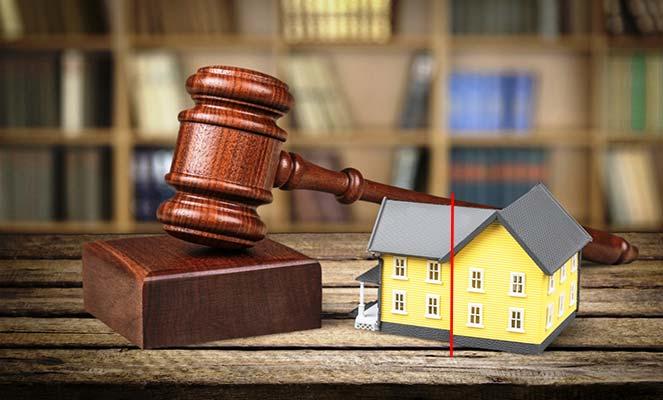 Выделение доли недвижимости через суд