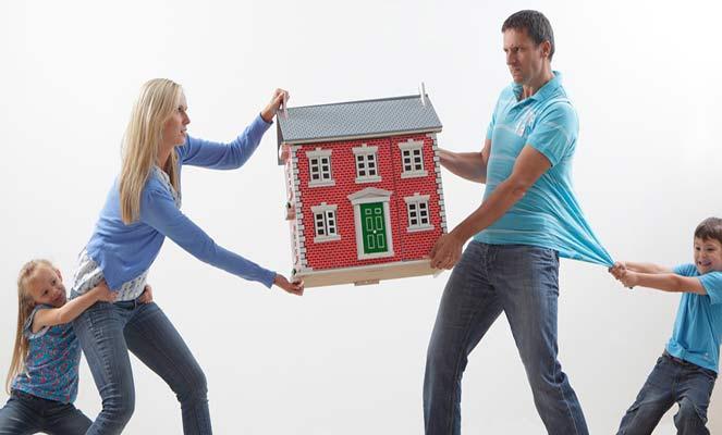 Раздел жилья супругами с детьми