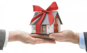 Дарение квартиры супругу третьим лицом