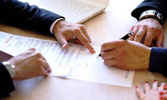 Подписание договора купли-продажи совместного имущества