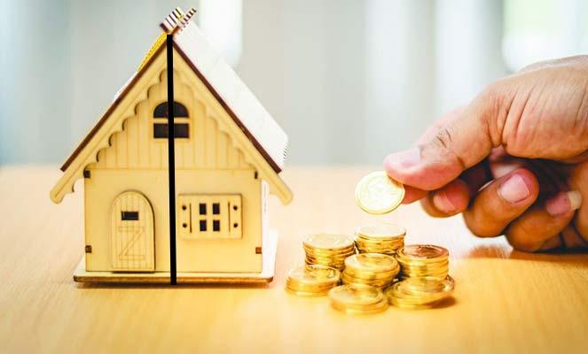 Затраты на выделение долей в доме
