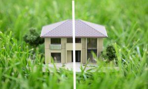 Долевая собственность на дом и участок