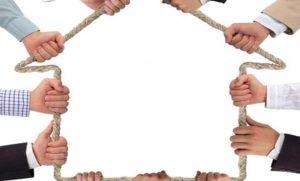 Владение домом при долевой собственности